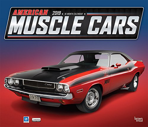 American Muscle Cars - Amerikanische Muscle-Cars 2019 - 18-Monatskalender (Deluxe-Kalender)