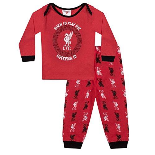 9f110bddfb03e Liverpool FC Officiel - Pyjama thème Football - garçon Enfant bébé - 12-