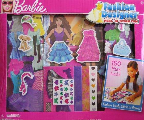 Fashion Designer Peel N Stick - Barbie