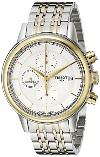 Tissot Men's 42mm Chronograph Automatic Sapphire Glass Watch T085.427.22.011.00