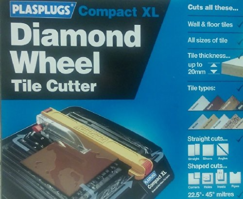 Plasplugs Compact Plus XL DWW200 Electric Tile Cutter Test