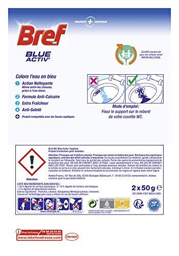 Bref Nettoyant WC Blue Activ' Hygiène Duo-Pack