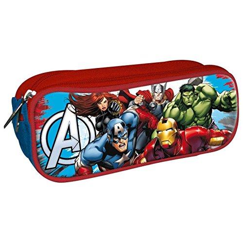 s Doppel-Federmäppchen Verschluss, as9938, 85x 225x 70mm (Die Avengers Von Disney)