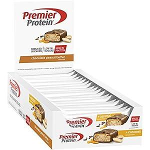 Premier Protein - Protein Bar Deluxe, Eiweißriegel, mit hohem Proteingehalt...