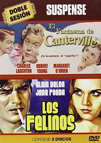 Preisvergleich Produktbild El Fantasma De Canterville / Los Felinos (Import) (Dvd) (2013) Alain Delon,  Andr