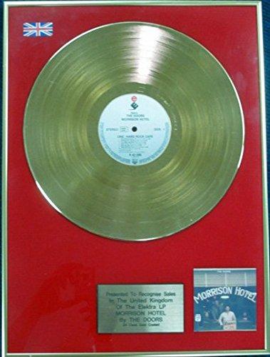 Die Türen–24Karat LP Gold Disc–Morrison Hotel