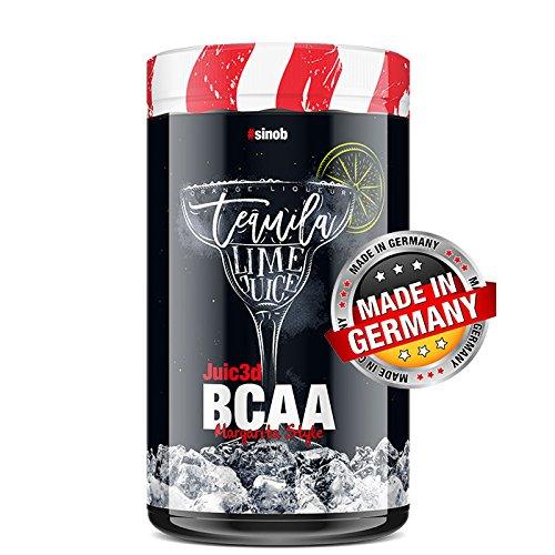 BlackLine 2.0 Juic3d BCAA Cocktail Edition - Instant Aminosäure Pulver. Vegan, Vitamin B6, Aminos 2:1:1 Leucin, Isoleucin, Valin. 1 x 500g (Margarita)