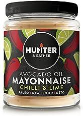Hunter & Gather Avocado Paleo Maionese con chilli e Lime Senza Zucchero e Glutine