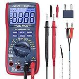 AstroAI Multimetro Digitale TRMS 6000 Conti, Tester Digitale Professionale Automatico di Tensione e Corrente DC/AC, Temperature, Frequenza, Capacità, Continuità, Diodo con Schermo LCD