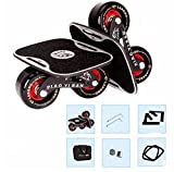 TTYY Freeline Drift Skates High-End-Lager Scooter Portable für Outdoor-Entertainment Land Surfen Set