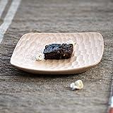 Bezigeorey Ki Ko Kreative Handarbeit Holz Schildkröte Dish Snack Teller Kuchen Fach Obstteller Holz- Geschirr, Vier Ecken GUI Jiadie