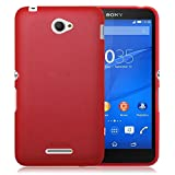 TBOC® Rot Gel TPU Hülle für Sony Xperia E4 E2104 E2105