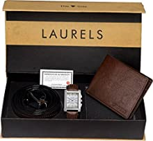 Laurels Analogue Silver Dial Men's Watch - Imp-201-Fos-02