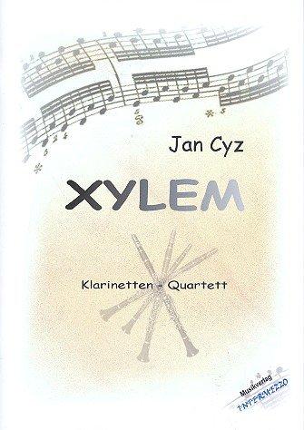 Xylem : für 3 Klarinetten und Bassklarinette Partitur und Stimmen