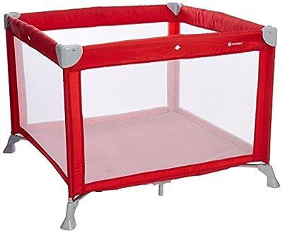 Mon Bebe Parque/cama Cirques Ribbon Red