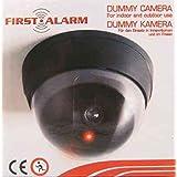 First alarm - Caméra dôme factice avec led rouge clignotante