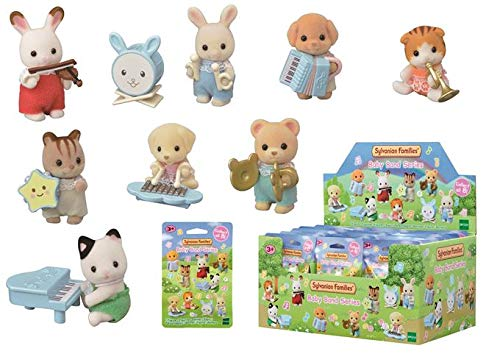 Sylvanian Families - 5321 - Figurines à collectionner - Bébé musiciens - lot de 24 figurines