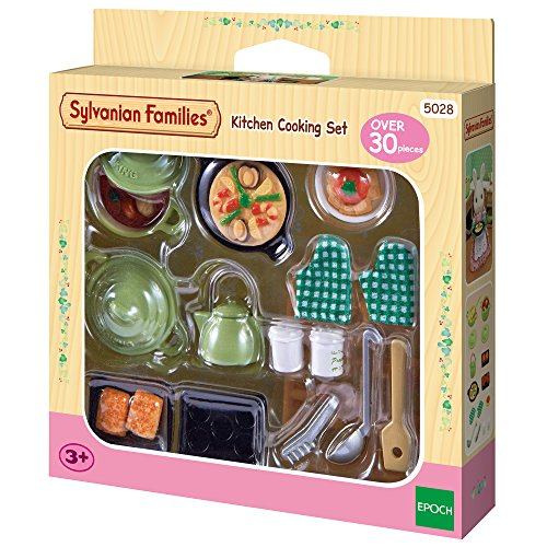 Sylvanian Families - 2938 - Poupées Et Accessoires - Set Ustensiles de Cuisine