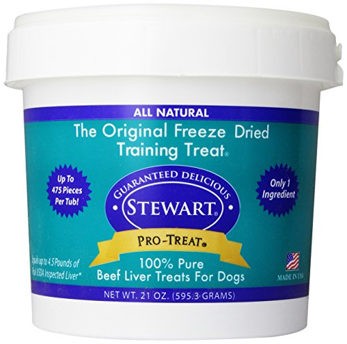 Stewart Freeze Dried hígado alimento para perros