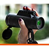 Best Monoculars - MSE Panda 40x60 Zoom Mini Telescope monocular Night Review