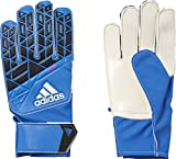 adidas Kinder Ace Junior Torwarthandschuhe, Blue/Core Black/White/Shock Pink S16, 7