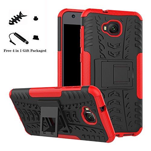LiuShan ASUS Zenfone 4 Selfie ZD553KL Hülle, Dual Layer Hybrid Handyhülle Drop Resistance Handys Schutz Hülle mit Ständer für ASUS Zenfone 4 Selfie ZD553KL 5.5