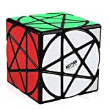 Easygame - Qiyi MoFangGe Cubo Pentacle Speed Cube Magic Puzzles Negro