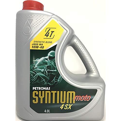 Petronas Syntium 4 SX 4 Tempi 10W40 Olio 4LTR
