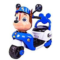 Tricycle PAW PATROL 6V Road Riding Kids, Blue
