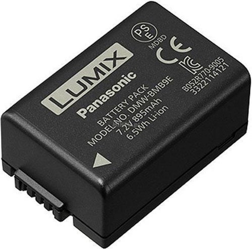 Panasonic DMW-BMB9E Batterie pour Appareil photo bridges, Noir