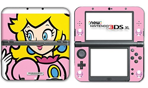 New Super Mario Bros Princess Peach Special Video Game Vinyl Decal Skin Sticker Cover for the New Nintendo 3DS XL LL 2015 System Console by Vinyl Skin Designs (3ds Nintendo Princess)