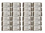 Kokosfaserziegel 24 x 8 Liter, ca. 650 g je Ziegel, gesamt:192 Liter, (EUR 0,12 je Liter/EUR 0,99 je Ziegel), Humusziegel, Kokosziegel, torffreie Anzuchterde, Kokosquellerde aus gepresster Kokosfaser