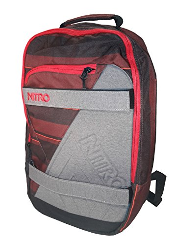 Nitro Snowboards Rucksack Axis Pack RED STRIPES