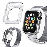 C6342mm Apple Watch Slim Fit Gel klar Schutzhülle mit Premium Finish