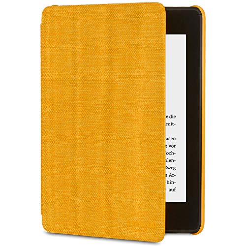 Amazon Kindle Paperwhite-Hülle aus wassergeeignetem Stoff (10.Generation - 2018), Gelb