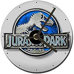 Parque Jurasico Jurassic Park 4 Reloj CD Clock 12cm
