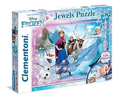 Frozen - Puzzle: joyas, 104 piezas (Clementoni 20133) por Clementoni