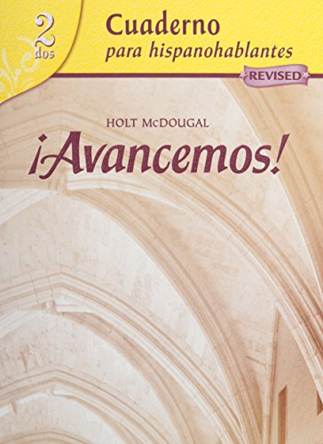 Avancemos + Lesson Review Bookmarks: Cuaderno; Para Hispanohablantes, 2 dos
