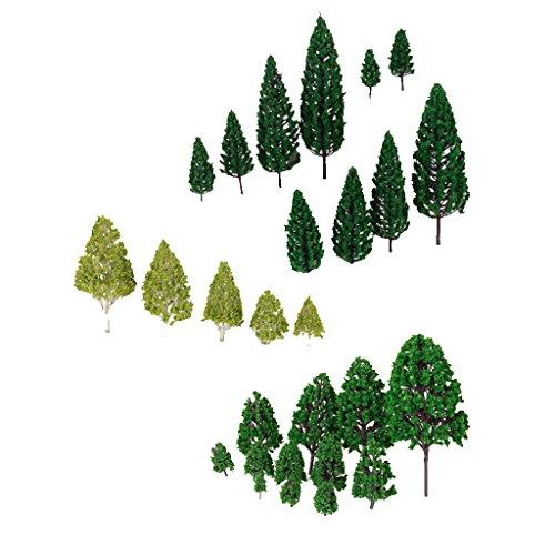 27-stk-modell-baume-zug-eisenbahnen-architektur-kriegsspiel-landschaft-layout-3-16-cm