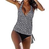 Luckycat Trajes De BañO Mujer Una Pieza Bikinis Atractivo De Mujeres De BañO Push Up Sujetador Acolchado Estampado De Flores Y Traje De BañO Ropa De Playa