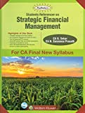 Wolter Kluwer - Padhuka's Students Referencer on Strategic Financial Management for CA Final May 2018 Exam (SFM- New Syllabus) by CA G. Sekar & Sarvana Prasath
