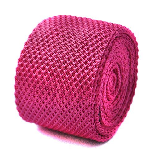 frederick-thomas-knitted-bright-pink-tie