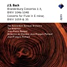 Bach, JS : Brandenburg Concertos Nos 1 - 3 & Flute Concerto - Apex