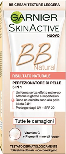 Skin Naturals Garnier Skinactive BB Natural Perfezionatore di Pelle 5 in 1 - 50 ml