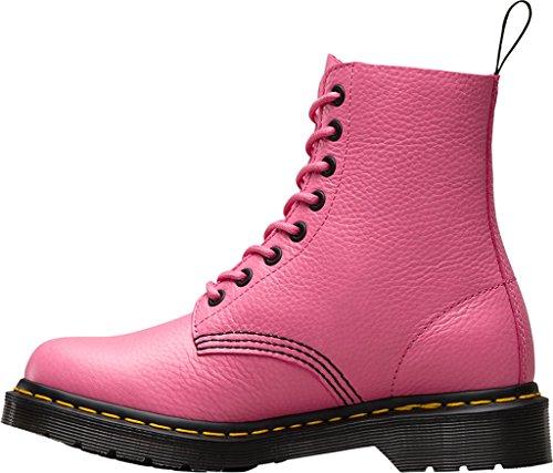Dr. Martens Pascal W/Zip, Bottes Classiques Femme, Noir Rose (Soft Pink Aunt Sally)