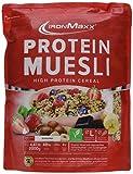IronMaxx Protein Müsli Banane – Veganes Fitness Müsli laktosefrei und glutenfrei – Eiweiß Müsli mit Bananengeschmack – 1 x 2 kg