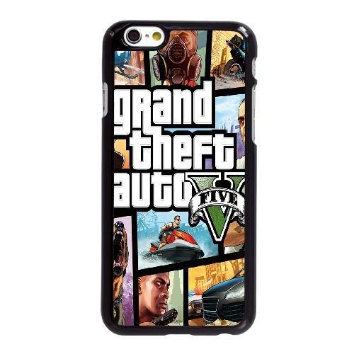 Gta Für Handy (Grand Theft Auto 5 V6J8Pu iPhone 6 6S 4,7-Zoll-Handy-Fall Hülle Schwarz T0O3QL DIY Personalisierte Telefon-Kasten Hülle)