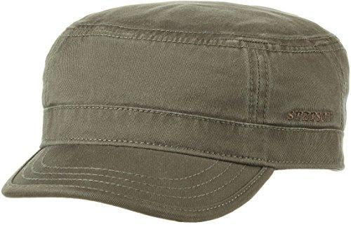 Gosper Armycap by Stetson (XL/60-61, oliv) (Xxl Militär Hut)