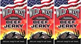 (3er BUNDLE)| Wild West - Slab Beef Jerky Peppered -25g