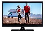 Telefunken XF22A101VD 56 cm (22 Zoll) Fernseher (Full HD 1080p, Triple Tuner, DVB-T2 HD, DVD-Player, 12 Volt)